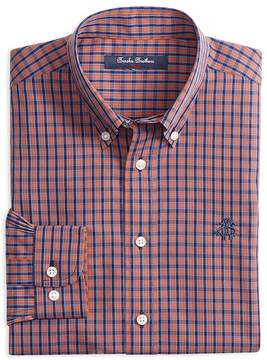 Brooks Brothers Boys' Tattersall Sport Shirt - Big Kid