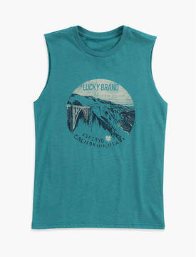 Lucky Brand SCENIC MUSCLE TEE