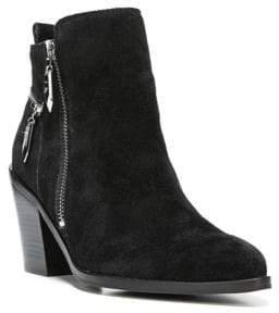 Fergie Bianca Suede Ankle Boots