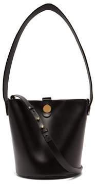 Sophie Hulme Swing Leather Bucket Bag - Womens - Black