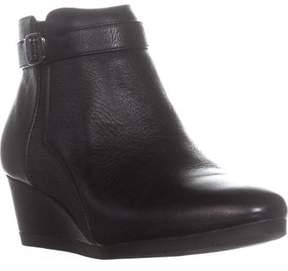 Giani Bernini Gb35 Celinaa Wedge Ankle Boots, Black Leather.