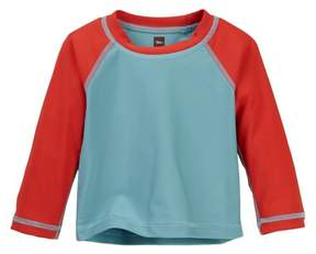 Tea Collection Jeju Colorblock Rashguard (Baby Boys)