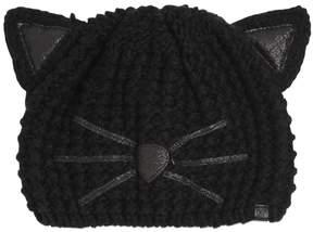 Karl Lagerfeld Choupette Luxury Glitter Beanie Hat