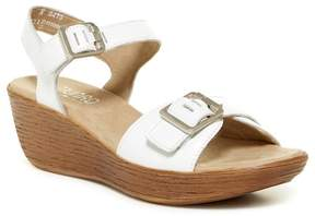 Munro American Marci Quarter Strap Wedge Sandal - Multiple Widths Available