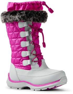 Lands' End Lands'end Girls Snowflake Boots