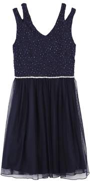 Speechless Girls 7-16 & Plus Size Glitter Lace Tulle Dress
