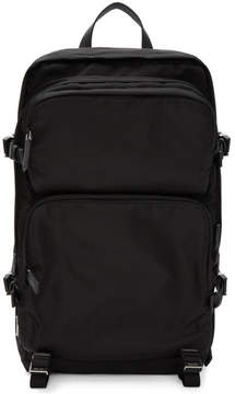 Prada Black Nylon Mountain Backpack