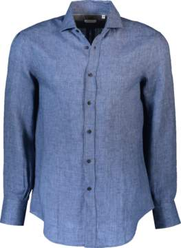 Brunello Cucinelli Linen Solid Shirt