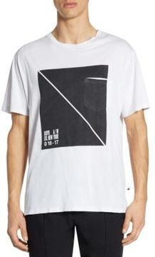 Alexander Wang Box Printed Cotton Tee