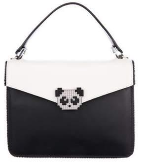 Les Petits Joueurs Pixie Metal Panda Bag