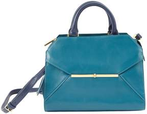 Tory Burch Leather handbag - BLUE - STYLE