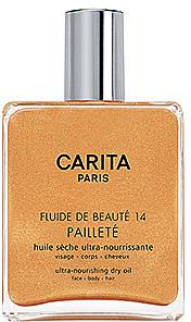 CARITA Fluide de Beaute 14 Gold - Ultra-Nourishing Dry Oil