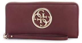 GUESS Alana Large Zip-Around Wallet