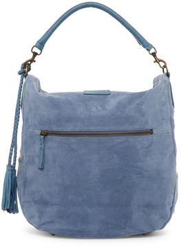 Liebeskind Berlin Niva Embroidered Suede Hobo Bag
