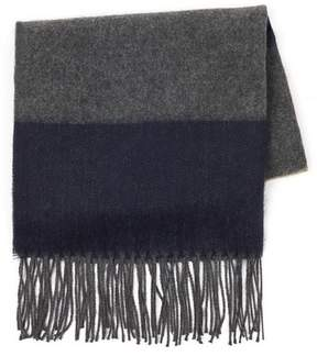 Topman Mens Multi Tonal Checked Scarf
