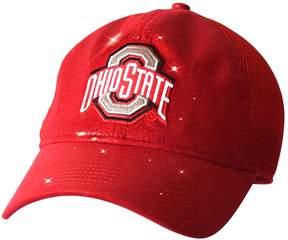 NCAA Adult Ohio State Buckeyes Team Shine Mesh Snapback Cap