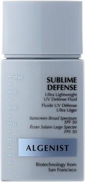Algenist SUBLIME DEFENSE Ultra Lightweight UV Defense Fluid SPF 50