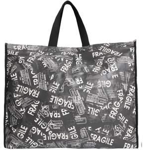 MM6 MAISON MARGIELA Fragile Printed Large Shopping Bag
