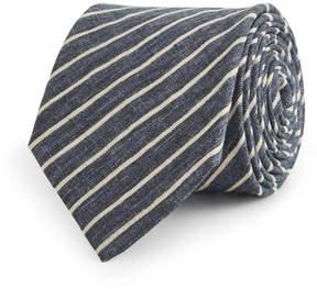 Reiss Rail Striped Linen Tie