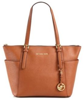 MICHAEL MICHAEL KORS Jetset Saffiano Leather Tote