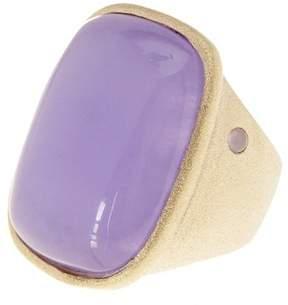 Rivka Friedman Purple Quartzite Statement Ring