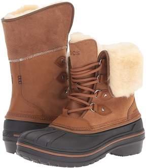 Crocs AllCast II Luxe Boot Women's Boots