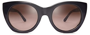 Tory Burch Pierced-T Cat-Eye Sunglasses