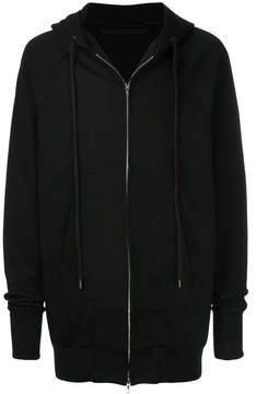 Julius zipped hooded jacket