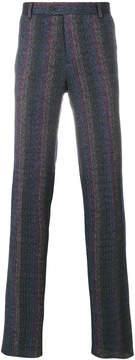 Missoni zig-zag stitch detail trousers