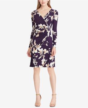 American Living Slim-Fit Floral-Print Dress