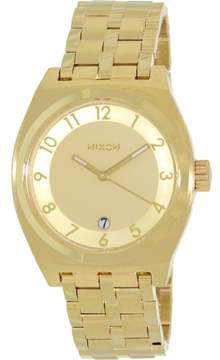 Nixon Monopoly Watch All Gold, One Size