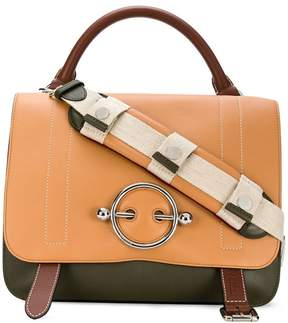 J.W.Anderson foldover flap messenger tote