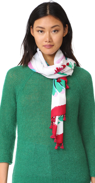 Kate Spade New York Hummingbird Oblong Scarf