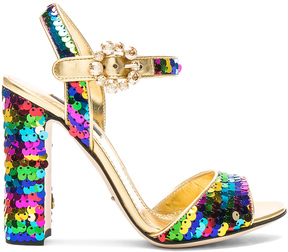 Dolce & Gabbana Sequin Sandals