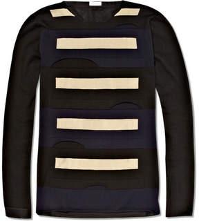 Balenciaga Striped Long Sleeved T-Shirt