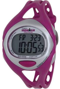 Timex Women's 50 Lap Sport Runner Purple Resin Watch