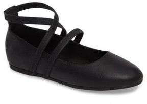 Eileen Fisher Women's Joe Strappy Ballet Flat