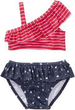 Gymboree True Red Stripe Bikini Top & Bottoms - Newborn & Infant
