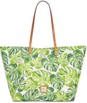 Dooney & Bourke Palm Montego Addison Medium Tote - GREEN - STYLE