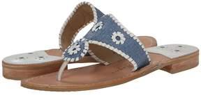 Jack Rogers Jack's Raffia Women's Sandals