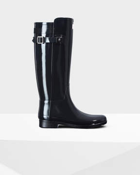 Hunter Women's Original Refined Back Strap Gloss Rain Boots