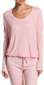 Barefoot Dreams Luxe Ribbed Jersey Pullover