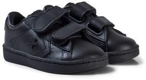 Converse Black Infants Pro Leather '76