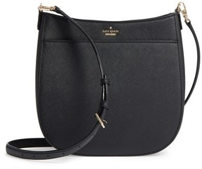 Kate Spade New York Cameron Street - Robin Leather Crossbody Bag - Black