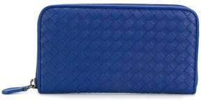 Bottega Veneta intreciatto zip around wallet