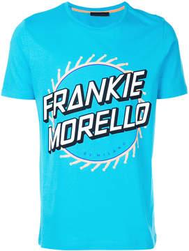Frankie Morello short sleeved logo T-shirt