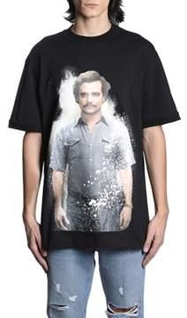 Ih Nom Uh Nit Men's Black Cotton T-shirt.