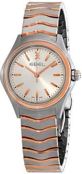 Ebel Wave Silver Dial Ladies Watch