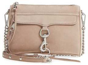 Rebecca Minkoff Mini MAC Convertible Crossbody Bag - BEIGE - STYLE