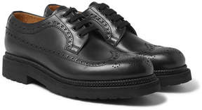 Valentino Lug-Soled Leather Brogues